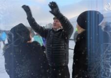 Поздравления жителей поселка Суханово Парк с Новым годом-2015