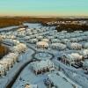 Суханово Парк: зимняя съемка с высоты птичьего полета